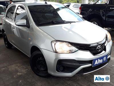 Toyota Etios Hatch Etios X 1.3 (Flex) 2018}
