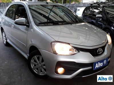 Toyota Etios Hatch Etios XLS 1.5 (Flex) 2018}