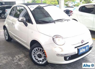Fiat 500 CABRIO AUTOMÁTICO 1.4 16V FLEX 2015 2P 2015}