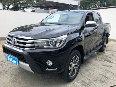 Toyota Hilux Cabine Dupla Diesel SRX 2.8L Turbo (Aut) 2018}