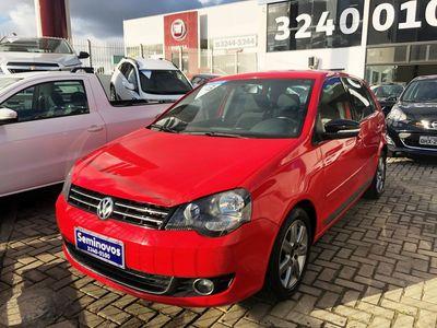 Volkswagen Polo . Sportline 1.6 8V I-Motion (Flex) (Aut) 2013}