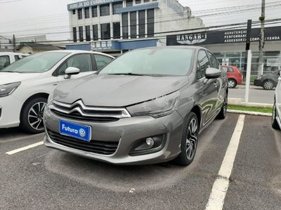 Citroën C4 Lounge Exclusive 1.6 THP (Aut) 2017}