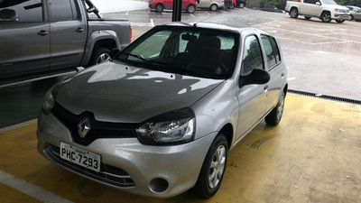 Renault Clio Authentique 1.0 16V (Flex) 4p 2015}