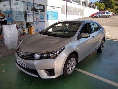 Toyota Corolla Sedan 1.8 Dual VVT-i  XLI (aut) (flex) 2016}