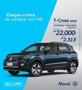 Volkswagen T-Cross Comfortline 200 TSI 2020}