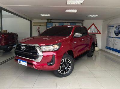 Toyota Hilux Cabine Dupla SRV A/T 4x4 Diesel 2021}