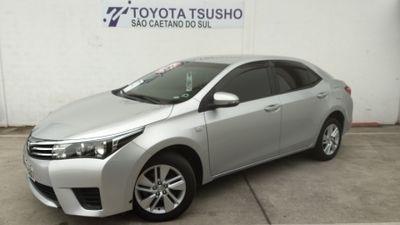 Toyota Corolla 1.8 GLi Automático Couro Flex 2016}
