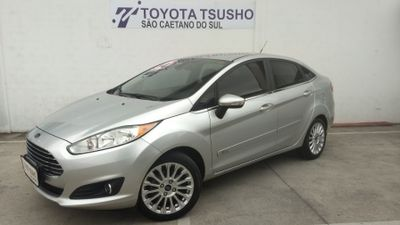 Ford New Fiesta Sedan Titanium 1.6 AT (Flex) 2016 2014}