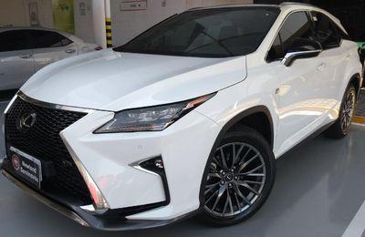 Lexus RX 350 F-Sport 3.5 V6 (Aut) 2018}