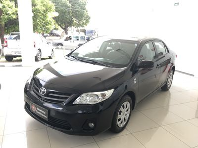 Toyota Corolla Sedan 1.8 Dual VVT-i  XLI (aut) (flex) 2012}