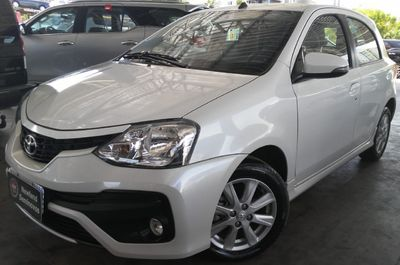 Toyota Etios Hatch XLS 1.5L (Flex) (Aut) 2018}