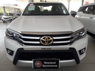 Toyota Hilux Cabine Dupla SRX A/T 4x4 Diesel 2018}