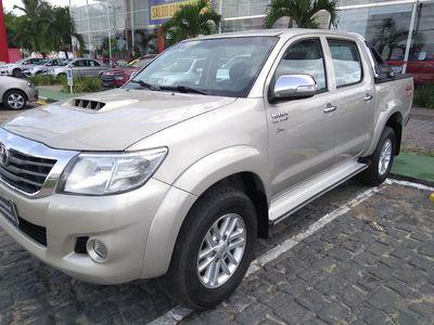 Toyota Hilux 3.0 SRV TOP 4X4 CD 16V TURBO INTERCOOLER DIESEL 4P AUTOMÁTICO 2013}
