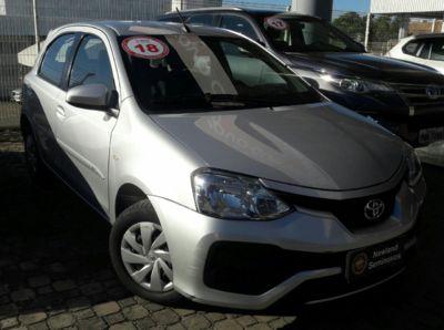 Toyota Etios Hatch XS 1.5L (Flex) (Aut) 2018}