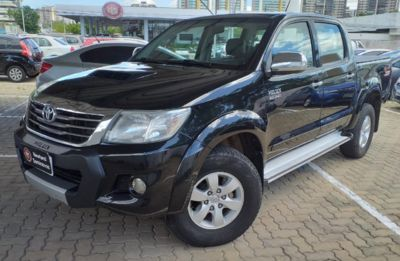 Toyota Hilux Cabine Dupla Diesel SRV 3.0 LIMITED 4x4 (Aut) 2013}