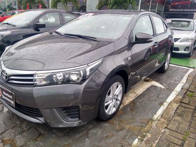 Toyota Corolla 1.8 GLi Automático Tecido Flex 2015}