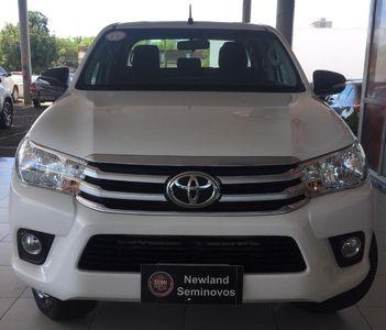 Toyota Hilux Cabine Dupla SR A/T 4x4 Diesel 2017}