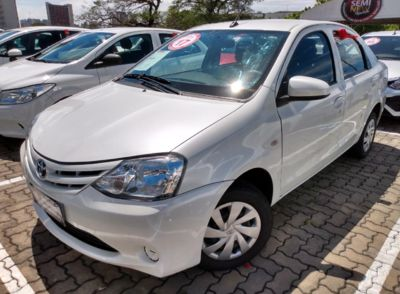 Toyota Etios Sedan X 1.5L (Flex) 2017}