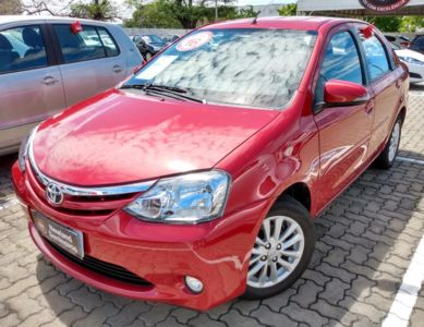 Toyota Etios Sedan XLS 1.5L (Flex) 2016}