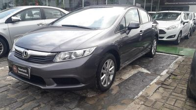 Honda Civic New  LXS 1.8 16V i-VTEC (aut) (flex) 2015}