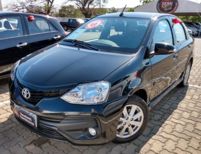 Toyota Etios Sedan XLS 1.5L (Flex) 2018}