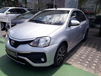Toyota Etios Sedan Platinum 1.5 2018}