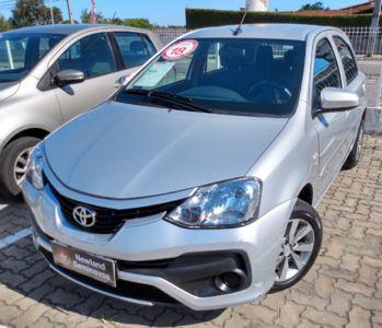 Toyota Etios Hatch X 1.3L (Flex) (Aut) 2018}