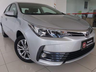 Toyota Corolla 1.8 GLi Automático Tecido Flex 2018}
