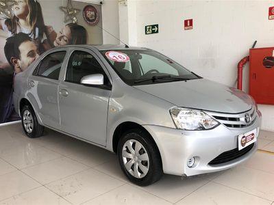 Toyota Etios Sedan X 1.5 Flex 2016}