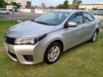 Toyota Corolla 1.8 GLi Automático Tecido Flex 2016}
