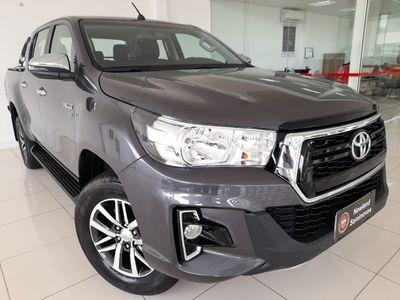 Toyota Hilux Cabine Dupla SRV A/T 2.7L 4x4 Flex 2020}