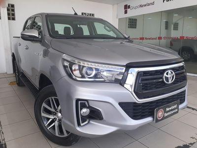 Toyota Hilux Cabine Dupla SRV A/T 4x4 Diesel 2019}