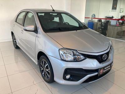 Toyota Etios Sedan Platinum 1.5 16V 2018}