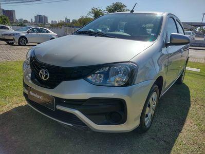 Toyota Etios Hatch X 1.3L Flex 2019}