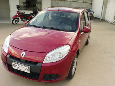 Renault Sandero Expression 1.0 16V (Flex)  2012}