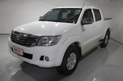 Toyota Hilux Cabine Dupla Flex SR 2.7L (Aut) 2015}
