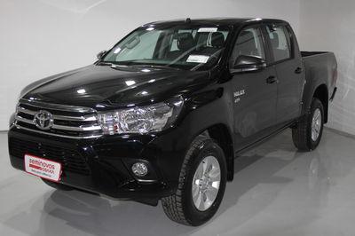 Toyota Hilux Cabine Dupla Flex SR 2.7 4x2 (Mec) 2018}