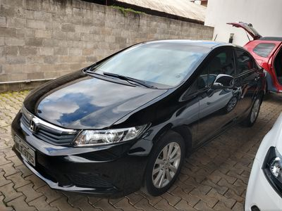 Honda Civic New  LXS 1.8 16V i-VTEC (flex) 2014}
