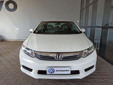 Honda Civic New  LXS 1.8 16V i-VTEC (aut) (flex) 2014}