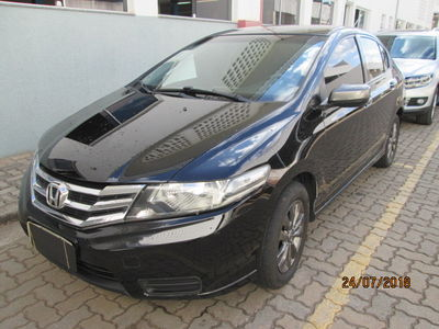 Honda City LX 1.5 16V (flex) (aut.) 2013}
