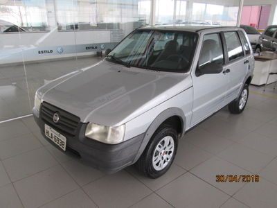 Fiat Uno Mille Fire Economy Way 1.0 (Flex) 4p 2011}