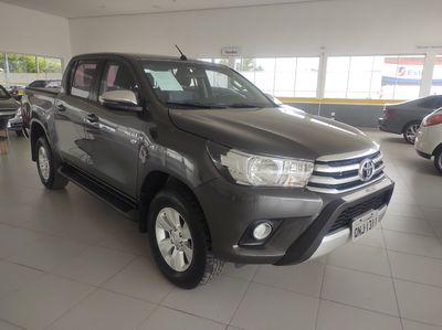 Toyota Hilux Cabine Dupla Flex SRV 2.7L 4x4 (Aut) 2018}