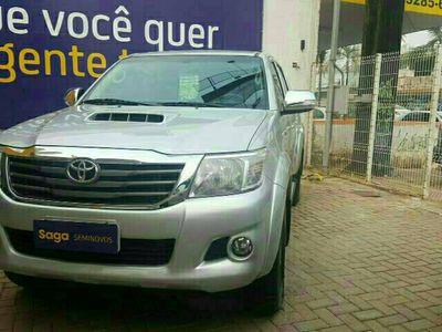 Toyota Hilux Cabine Dupla STD Pack 3.0L 4x4 Diesel 2015}