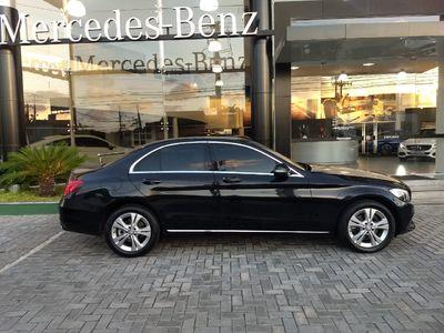 Mercedes-Benz C 180 1.6 CGI Avantgarde 7G-Tronic 2017}