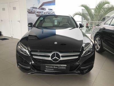 Mercedes-Benz C 180 1.6 CGI Avantgarde Turbo (Aut) 2015}