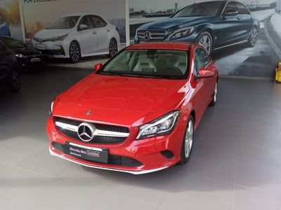 Mercedes-Benz CLA 180 1.6 2018}