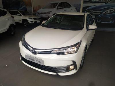 Toyota Corolla 1.8 GLi Automático Couro Flex 2019}