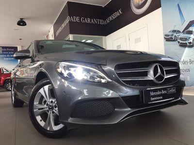 Mercedes-Benz C 180 1.6 CGI Avantgarde Turbo (Aut) 2018}