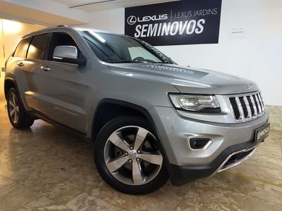 Jeep Grand Cherokee 3.0 LIMITED 4X4 V6 24V TURBO DIESEL 4P AUTOMÁTICO 2014}