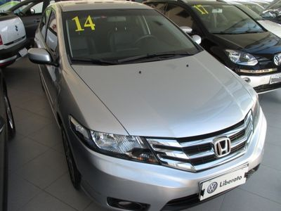 Honda City LX 1.5 (Aut) 2014}